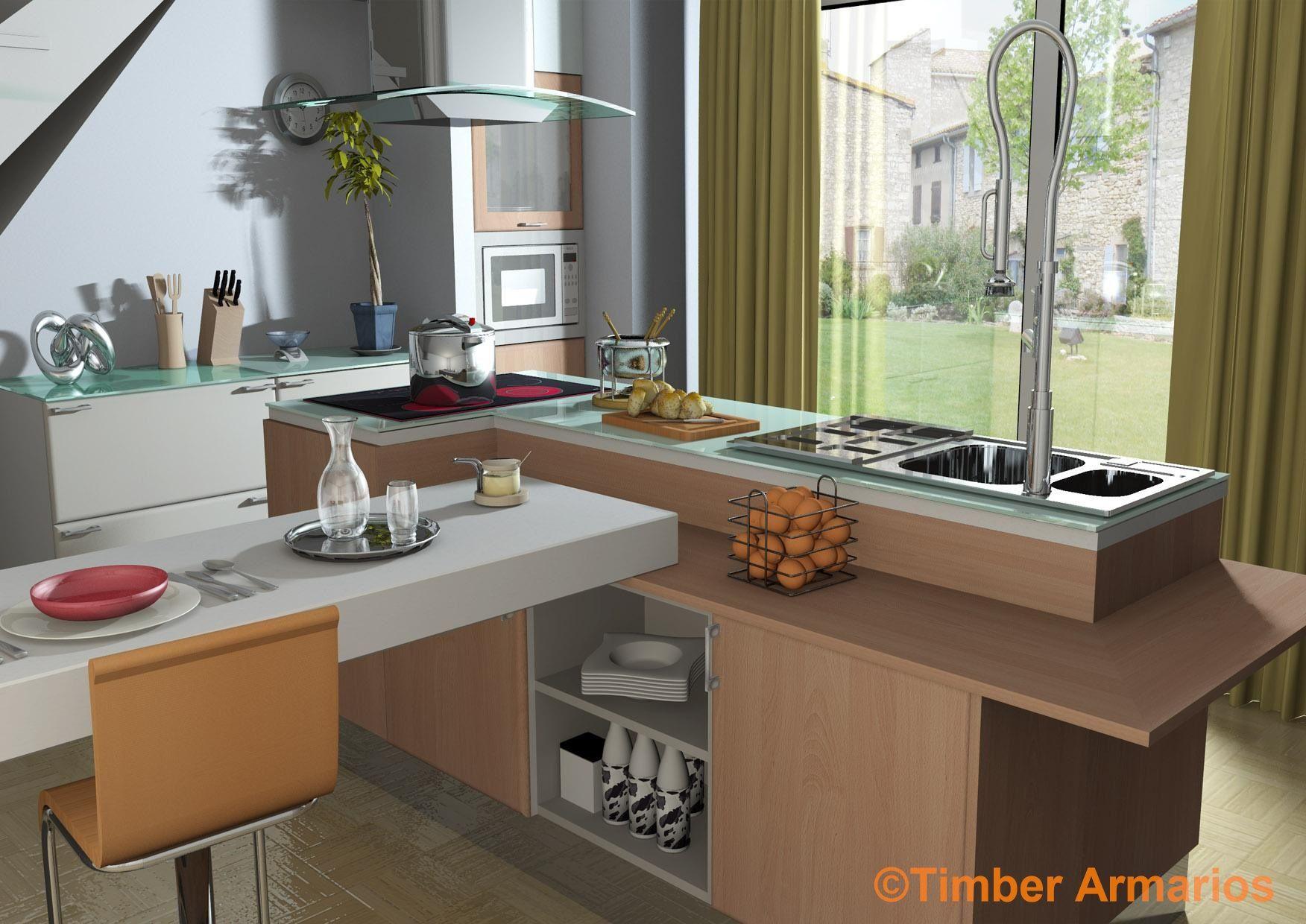 Exposici n timber armarios granada armarios empotrados - Cocinas economicas granada ...