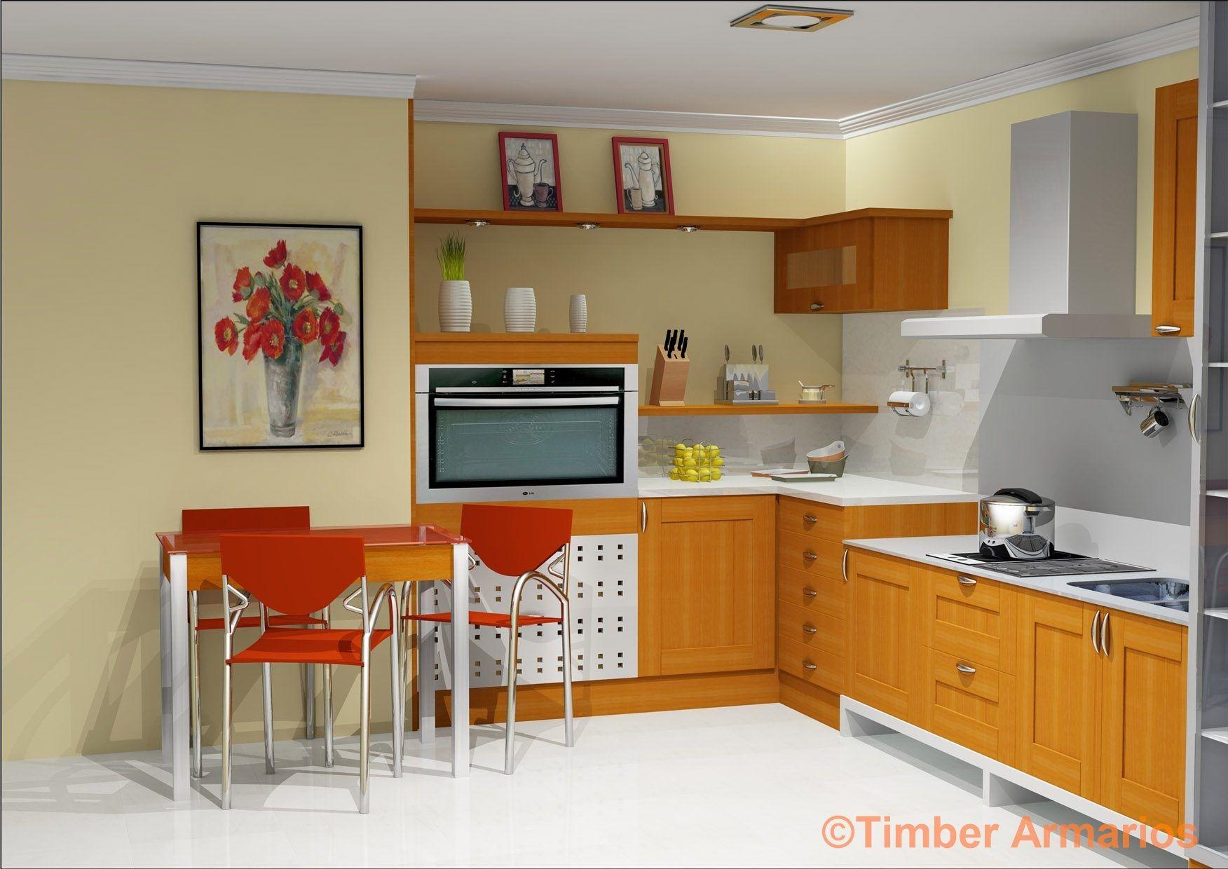 Planos de cocinas pequeas en 3d finest cocina de madera for Cocinas en 3d gratis