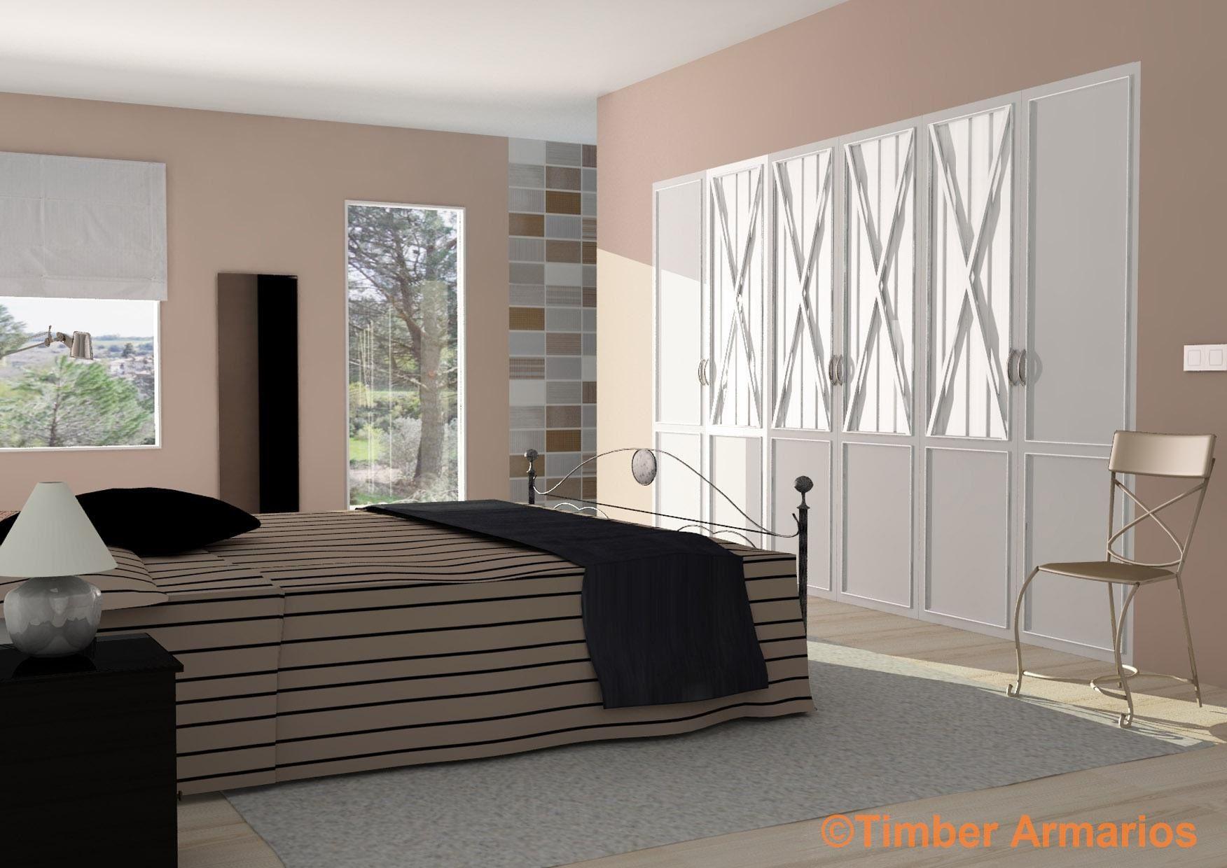 Armarios empotrados dormitorios matrimonio gallery of dormitorio de matrimonio errores comunes - Dormitorios con armarios empotrados ...